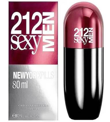 Carolina Herrera 212 Sexy MEN New York Pills 80ml (лиц.)