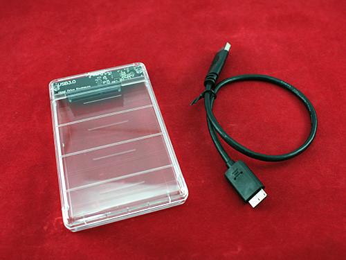 Зовнішній 2.5 USB 3.0 SATA Кишеню жорсткого диска, прозорий