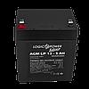 Аккумулятор кислотный AGM LogicPower LP 12 - 5,0 AH, фото 2