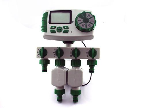 Таймер поливу, подачі води на 4 лінії з цифровим керуванням, Y10204
