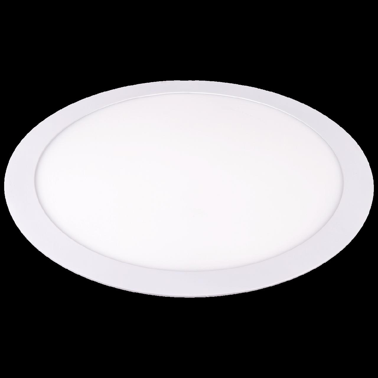 LED светильник Ilumia 24W 4000К нейтральный круг врезной (030)