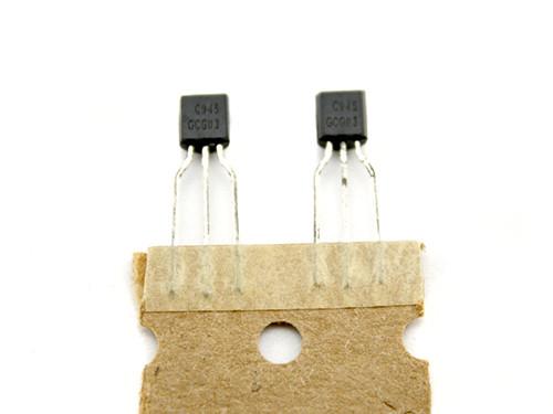 10x Чип C945 TO92 транзистор биполярный NPN, усилитель ВЧ