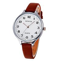 Недорогие женские часы с тонким ремешком R-4