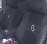 Авточохли Nika на Mercedes Sprinter 3 1+2 від 2018 року,комплект на передні сидіння, фото 2