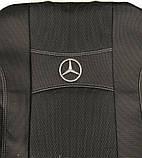Авточохли Nika на Mercedes Sprinter 3 1+2 від 2018 року,комплект на передні сидіння, фото 5