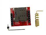 GSM GPRS модуль сотовой связи, дистанционного управления SIM800L, фото 2