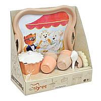 Чайный набор посуды Tigres Модное чаепитие игрушки для мальчика девочки детские развивающие интерактивные