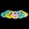 Слюнявчик силиконовый Zupo Crafts голубой, фото 4