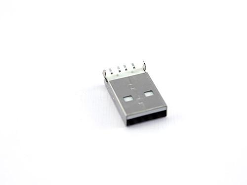 Разъем коннектор USB 2.0 папа 4pin AF 90 градусов SMT SMD