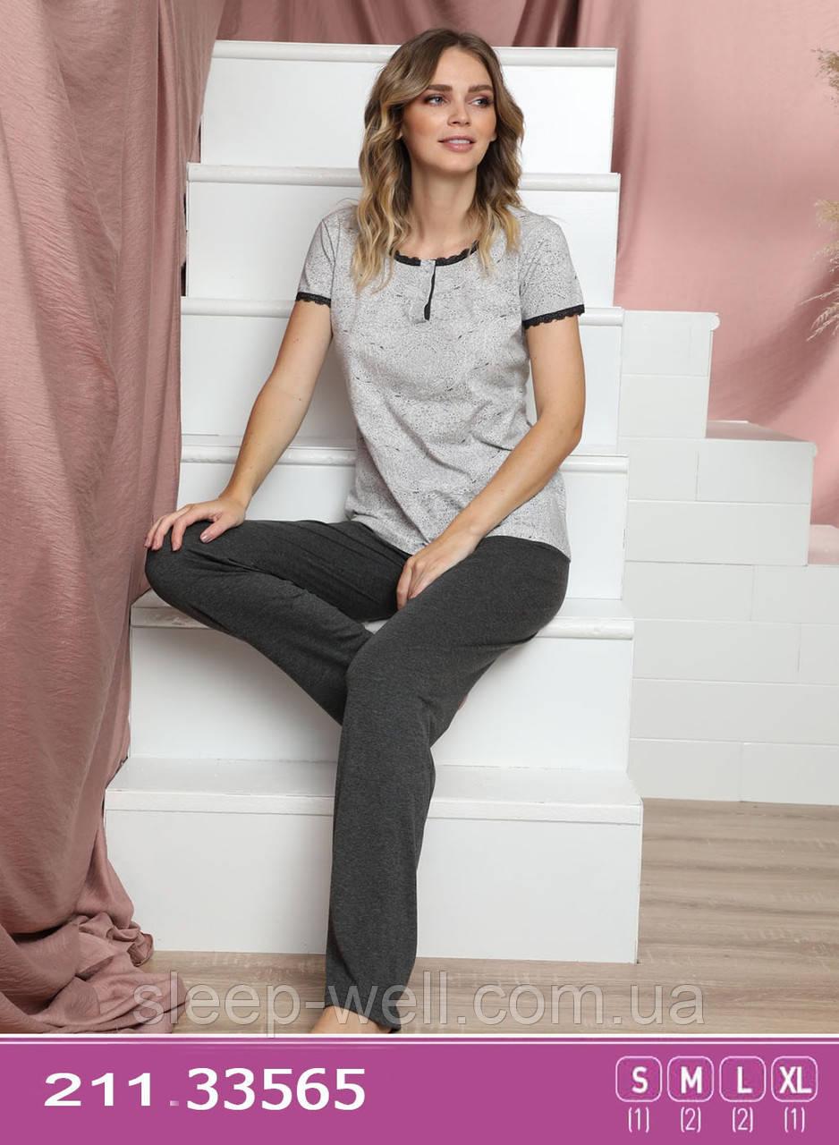 Пижама молодёжная с длинными штанами,Sexen