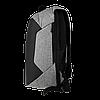 Рюкзак антивор Zupo Crafts ZC-05 серый, фото 3