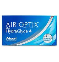 Контактные линзы Alcon Air Optix plus HydraGlyde 3 шт.