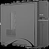 Корпус Slim LP S607 BK + Блок питания Micro ATX 400W 8см, фото 3