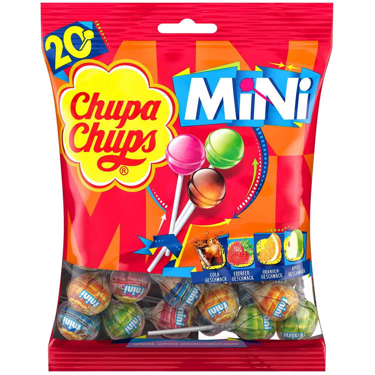 Леденцы чупа-чупс Chupa Chups Mini, 20 шт.