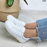 Женские кроссовки натур кожа 5780, фото 3