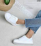 Женские кроссовки натур кожа 5780, фото 8