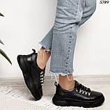 Женские кроссовки натур кожа 5789, фото 3