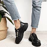 Женские кроссовки натур кожа 5789, фото 5