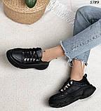Женские кроссовки натур кожа 5789, фото 10