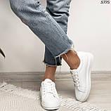 Женские кроссовки белые 5775, фото 2