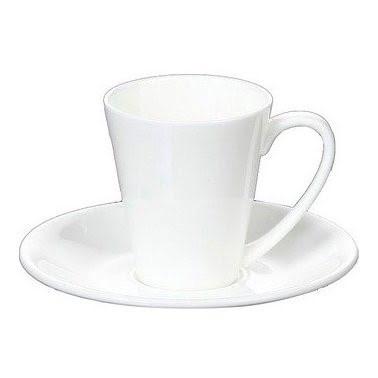 """Чашка фарфор. 160мл """"WilMax"""" з блюдцем №WL-993005/0054(6)"""