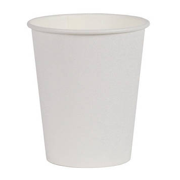 Стакан паперовий 175мл біл.(50)(1000)