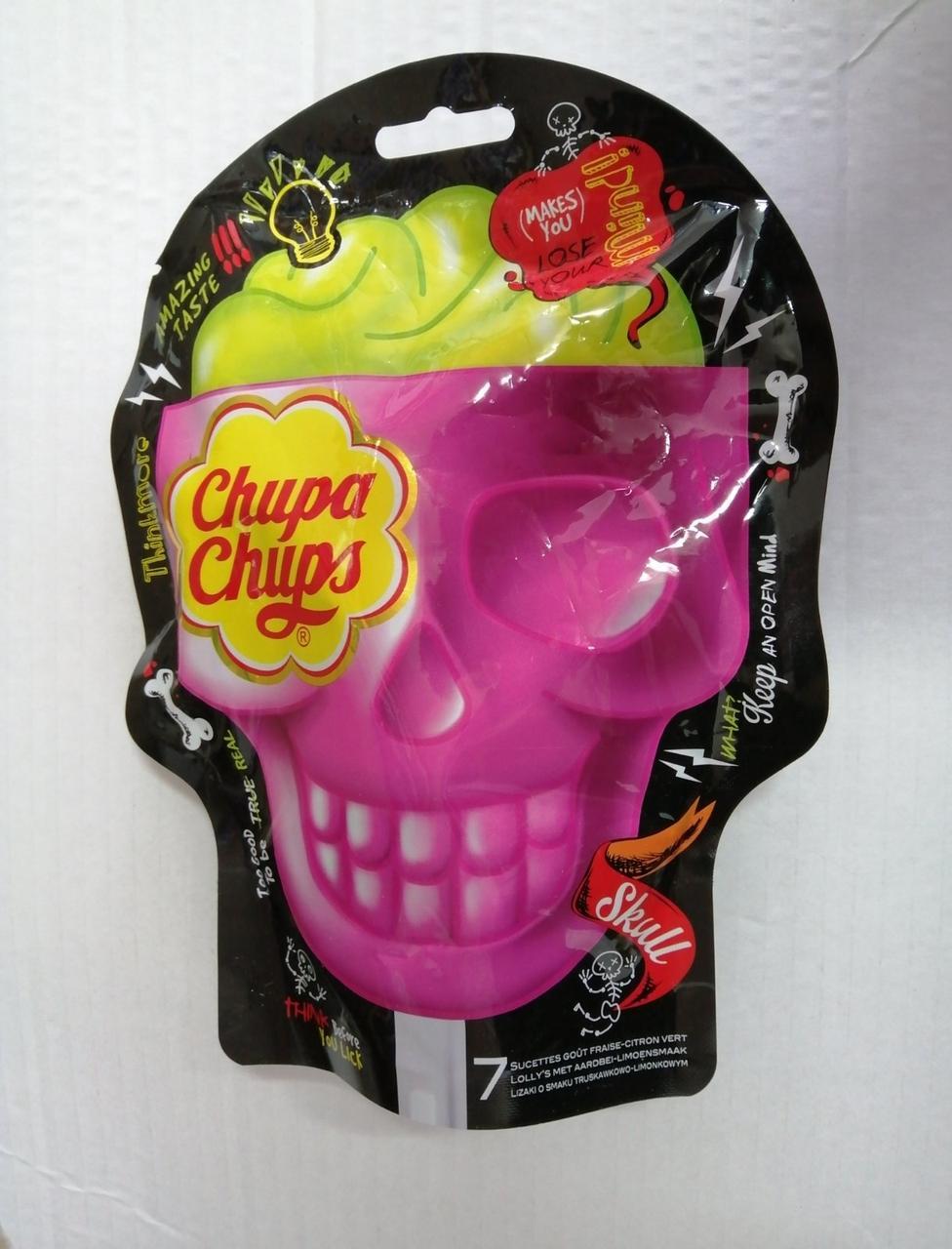 Леденцы Chupa Chups Skull эксклюзивная серия в форме черепа, 7 шт.