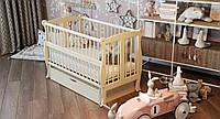 """Детская кроватка ТМ Дубик-М """"Грация"""" с ящиком. Цвет: слоновая кость"""