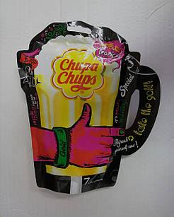 Льодяники Chupa Chups Gold ексклюзивна серія у формі пивної кружки, 7 шт.