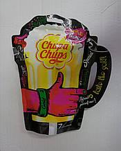 Леденцы Chupa Chups Gold эксклюзивная серия в форме пивной кружки, 7 шт.