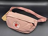 Женская поясная сумка бананка канкен мятная (т. бирюзовая) Fjallraven Kanken на пояс, через плечо, фото 5
