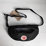 Женская поясная сумка бананка канкен мятная (т. бирюзовая) Fjallraven Kanken на пояс, через плечо, фото 6