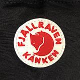Женская поясная сумка бананка канкен мятная (т. бирюзовая) Fjallraven Kanken на пояс, через плечо, фото 10