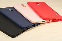Чехол-бампер силиконовый SMTT Huawei P9 прозрачный, фото 1