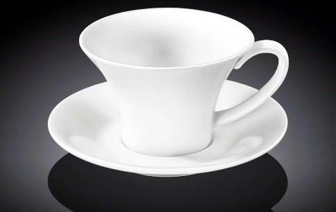 """Чашка фарфор. 240мл """"Wilmax"""" з блюдцем №WL-993170(6)"""