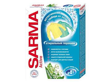 """Прал. порошок 400г унів. """"Sarma-Active Конвалія""""(22)"""