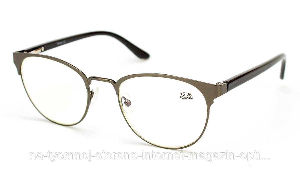 Очки для зрения в металлической оправе Verse 19189S blueblocker