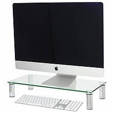 Підставка для ноутбука/монітора BeCover B2 Transparent (704675)