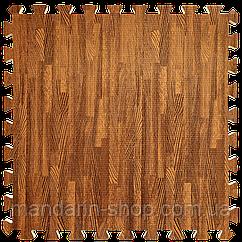 Модульное напольное покрытие пол пазл 600*600*10 Дерево