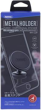 Автомобільний тримач для телефону Remax RM-C29 silver