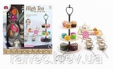 Набор посуды 555-CH027  десерты, чайник,чашечки,подставка, в кор. 32,5*27*13 см