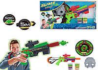 Бластер игрушка стреляющий слизью CH348 слизь, маска, в откр. кор. 30,5*55,5см