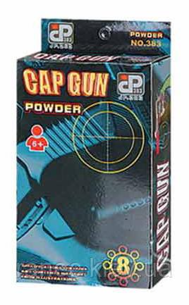 Пистолет игрушечный под пистоны AH4M  в кор 9,5*15,5*3,5см