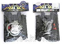Полицейский набор игрушечный YX010-5, в пакете 27*18,5 см