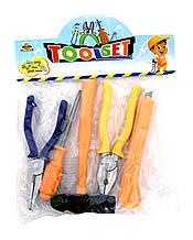 Набор инструментов игрушечный 99505-1, в пакете,17*15 см
