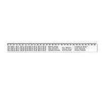 """Линiйка 30 см, NV-72009 пластмассовая """"Закрийницька"""" (25/250) (NAVIGATOR) Ш.К. 4820116736930"""