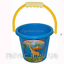 Ведерко детское для піску маленьке, арт. 39022, Тигрес