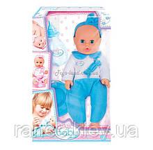 Моя первая кукла; 32 см. ; голубая одежда; 3+