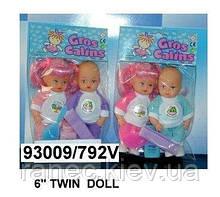 Кукла 15 см. 792V близнецы 2в.2шт.в кул.ш.к./216/