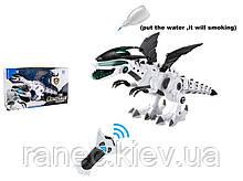Животное на р/у 0868-2 Динозавр, пульт, свет,звук,функ.пар,музыка,2 сказки, в коробке